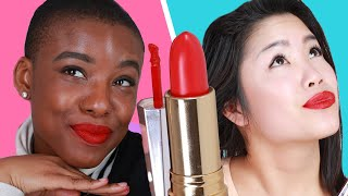 Women Try One-Shade-Fits-All Lipsticks