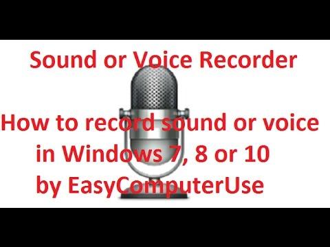 Sound or Voice recorder