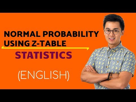 Statistics - Finding Area Under the Normal Curve Using the Z-table