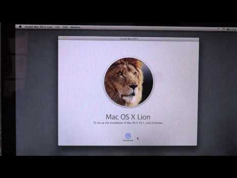 How To: Install Mac OS X Lion 10.7 Over Leopard (Updating Directly From Leopard To Lion)