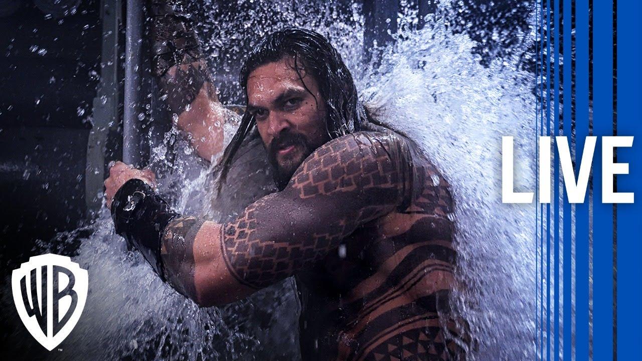 Aquaman | Making an Underwater World Behind The Scenes Livestream | Warner Bros. Entertainment