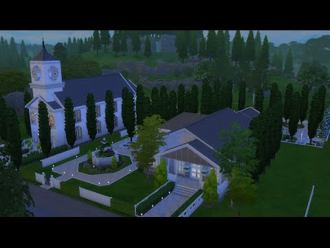The Sims 4 Speed Build: Windenberg Church and Wedding Venue: Part 2