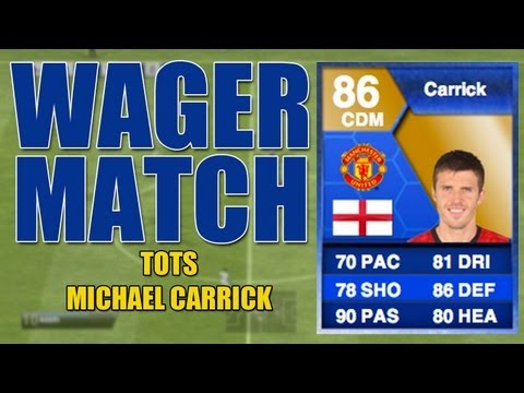 FIFA 13 - TOTS Carrick WAGER MATCH vs SUBSCRIBER w/ FACECAM - Ultimate Team