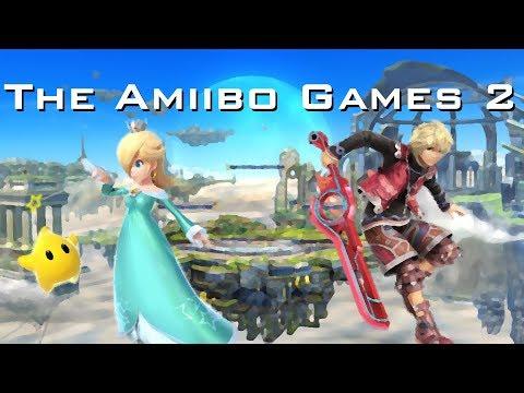 The Amiibo Games 2 - Round 1 Set 6   Dumpster (Rosalina and Luma) vs. Lettuce (Shulk)