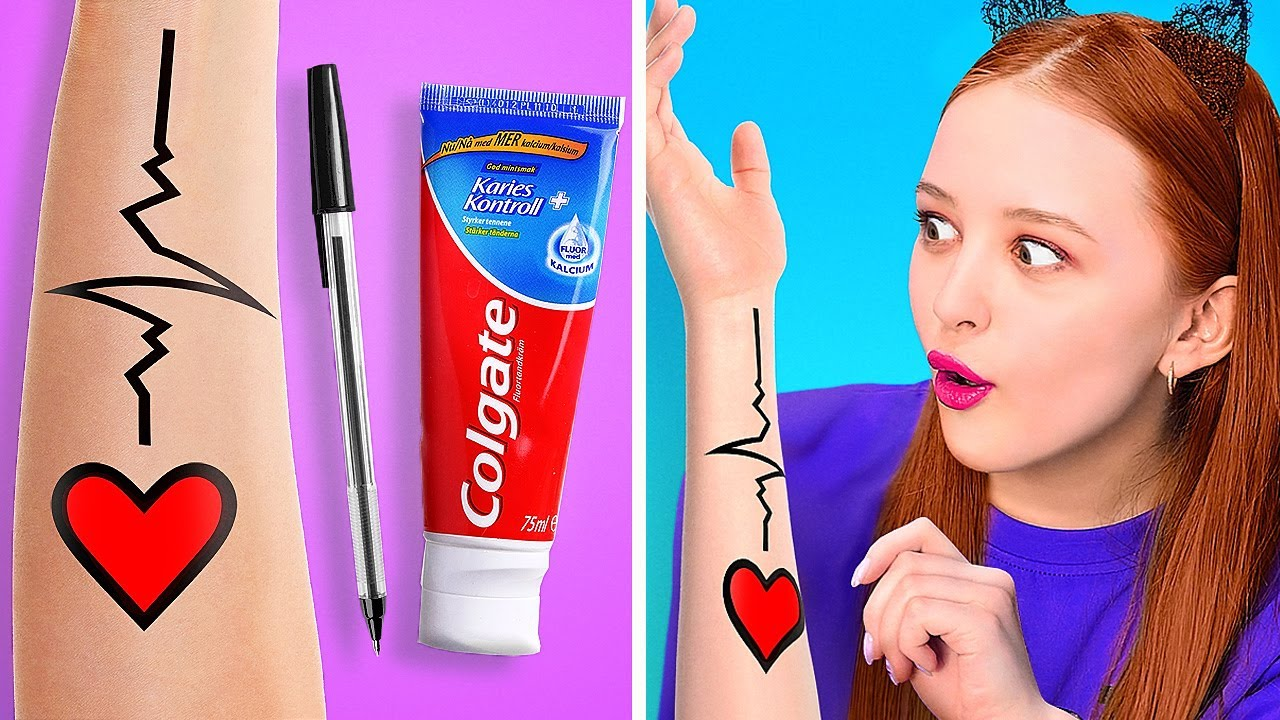 BEAUTY HACKS TO MAKE YOU A STAR!    Funny Life Hacks For Girls by 123 Go! Gold