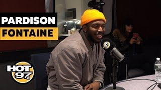 Pardison Fontaine On Cardi B, Working w/ Kanye West, & Names His Top 5 Rappers
