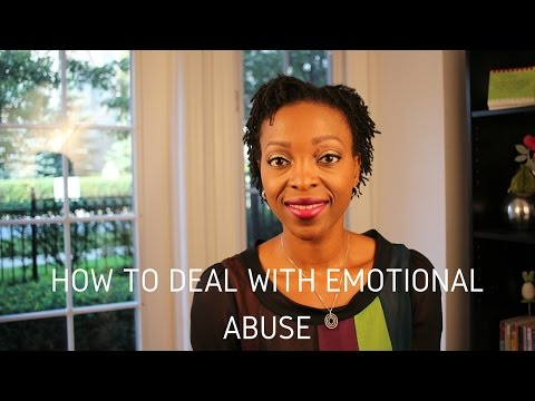 Marriage Advice - How To Deal With Emotional Abuse