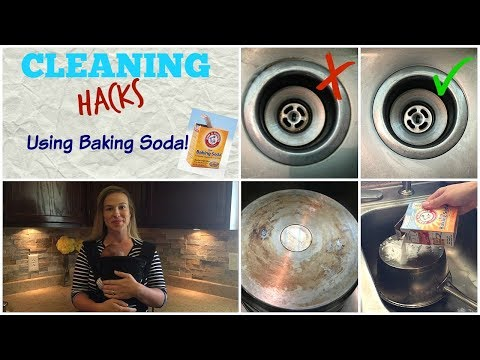CLEANING HACKS Using Baking Soda!