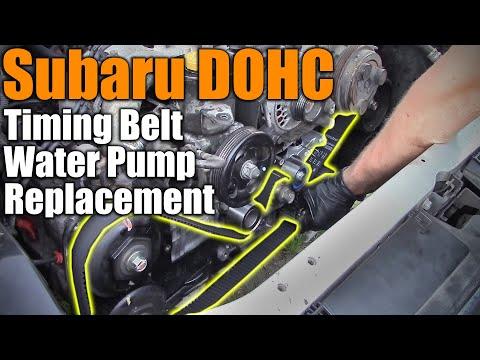 Subaru DOHC Timing Belt & Water Pump Replacement