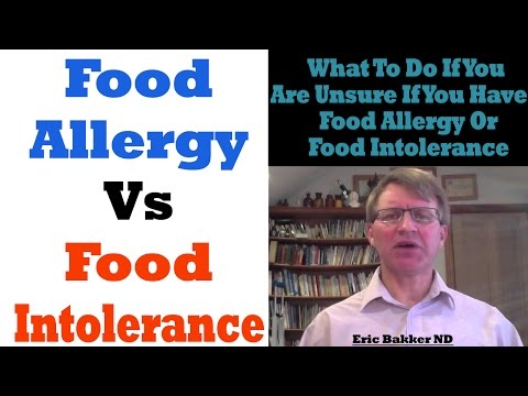 What To Do If You Are Unsure If You Have A Food Allergy Or Food Intolerance