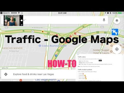 How to update Google maps to see real time traffic