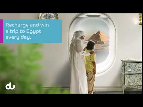 Recharge and win a trip to Egypt with My Account