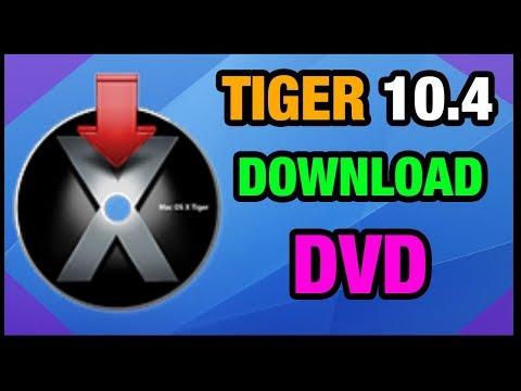 MAC OSX | TIGER 10.4 - Install DVD