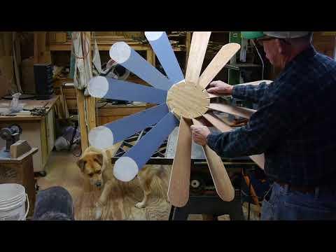 Windmill- Making Blades & Hub