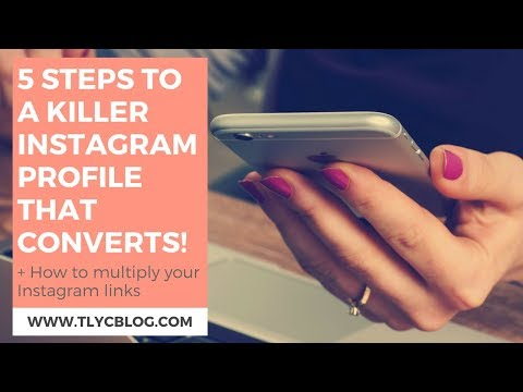 5 Steps to a Killer Instagram Profile + a BONUS Tip [IG LIVE Replay]