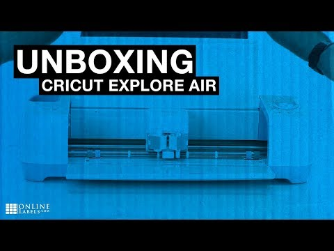 Cricut Explore Air Unboxing - See What's Inside