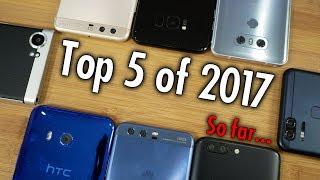 Top 5 Smartphones of 2017: Pocketnow Editors Vote on the Best So Far!