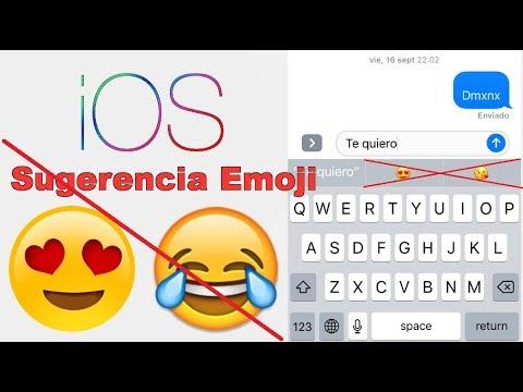Como activar o desactivar la sugerencia Emoji en iPhone o iPad con iOS