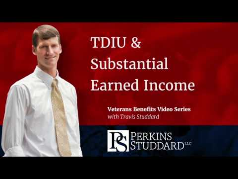 Individual Unemployability & Substantial Earned Income