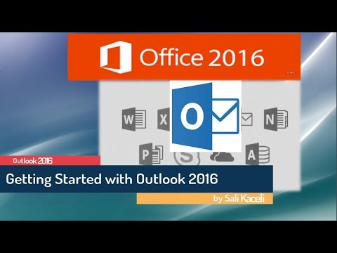 Outlook 2016 Tutorial: Getting Started with Microsoft Outlook 2016