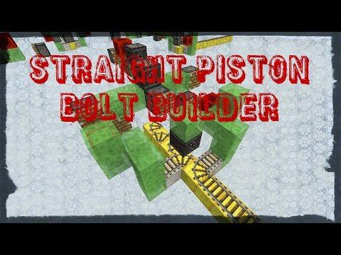 Straight Piston Bolt Builder 1.11-1.12