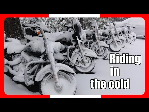 Keeping warm while riding your motorcycle