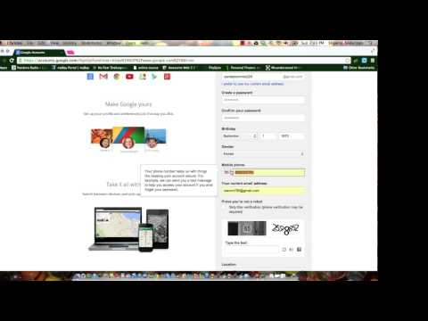 creating a second gmail account