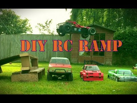Easy DIY RC Car Ramp. Scrap Wood/Pallet
