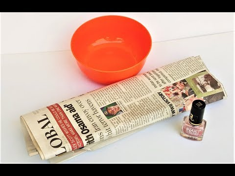Newspaper Crafts | Reuse / Recycle Ideas Of Waste Newspaper | Best Out Of Waste