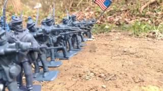 Civil War Stop Motion | Battle of Little Round Top