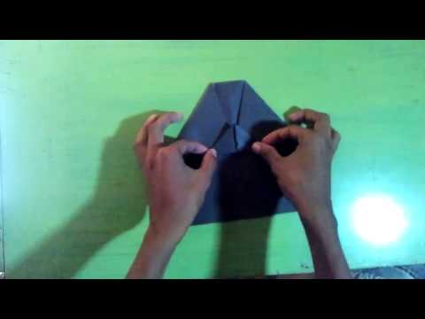 How to make a paper airplane - Paper airplane instructions glider - Paper Rocket that fly far easy