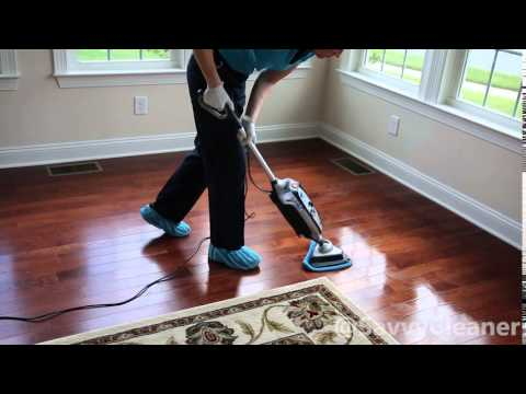 How to Steam Mop a Hardwood Floor @SavvyCleaner