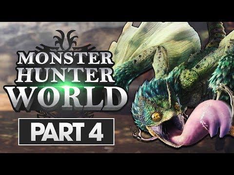Monster Hunter World Walkthrough Part 4: Pukei-Pukei