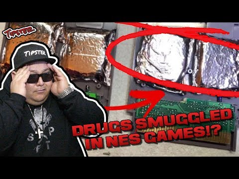 RETRO GAME COLLECTOR FINDS DRUGS SMUGGLED IN NES CARTRIDGES!?