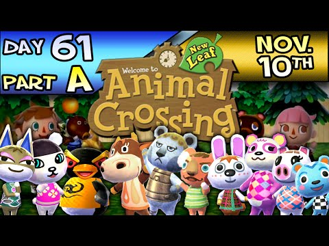Animal Crossing: New Leaf – Day 61 : Part A – Nov. 10 – What the Frog?