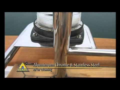 Boat and Yacht Cleaning Product -- A Glaze Aluminium, Chrome & Stainless Steel Polish.mov
