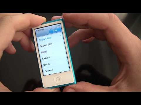How To Reset Settings On A 7th Generation ipod Nano