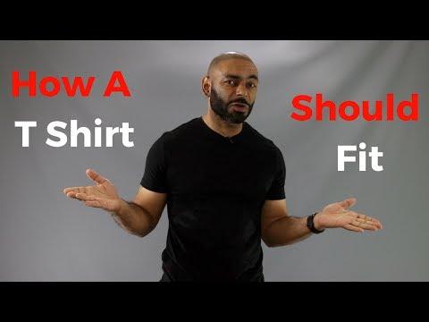 How A T Shirt Should Fit ( A Summer Essential )