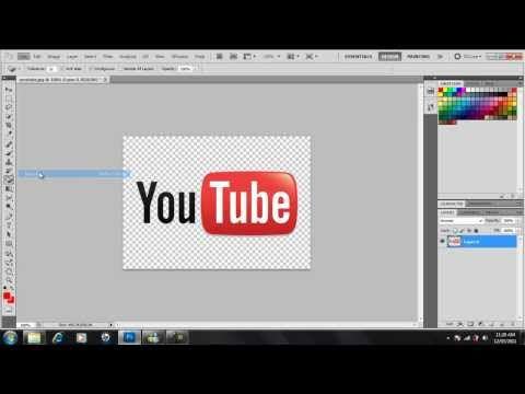 How To Make An Image Background Transparent / Remove Background (Photoshop CS5)