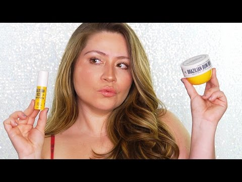 BRAZILIAN BUM BUM CREAM AND BRAZILIAN KISS LIP BALM | Product Review