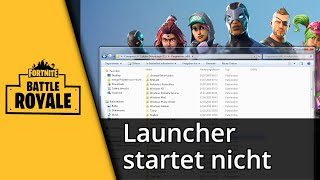 Epic Game Launcher Won't Open | Fortnite - PakVim net HD