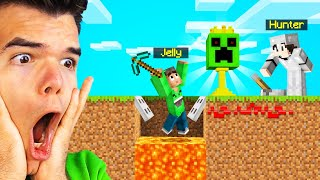 I Got TRAPPED In TROPHY SPEEDRUNNER VS HUNTERS! (Minecraft)