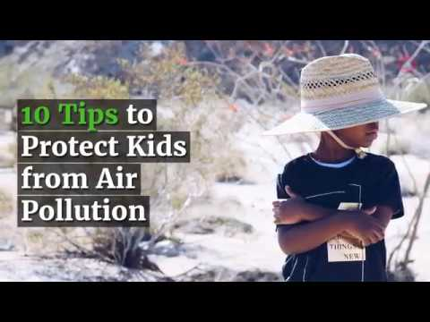 10 Tips to Protect Kids from Air Pollution