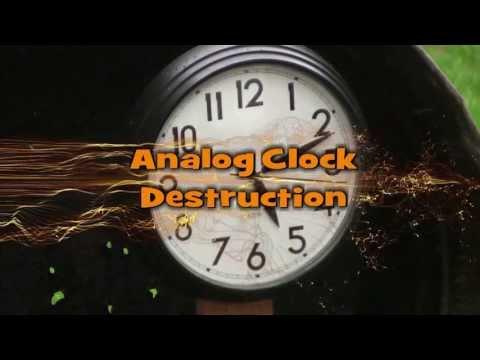 Analog Clock Destruction