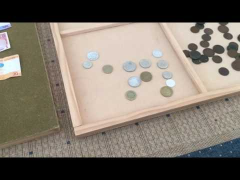 Coin Sorting Trays - Home Made