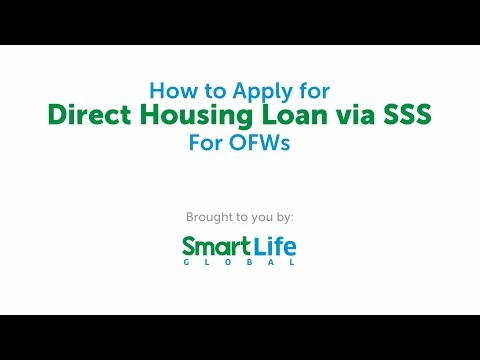 How to Apply for SSS Direct Housing Loan for OFWs