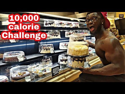 10,000 CALORIE CHALLENGE | EPIC CHEAT DAY | MAN VS FOOD