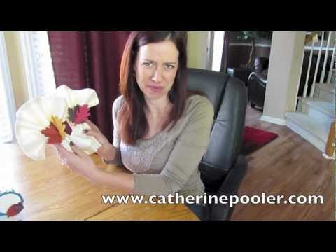 How to Make Thanksgiving Napkin Rings with Catherine Pooler