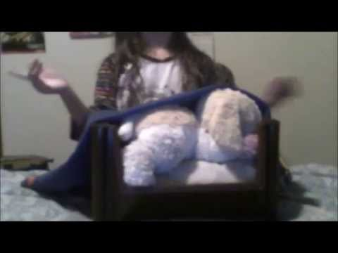 How to make a Stuffed Animal/Cat/Small Dog Bed ( w/ _Entity999_ )