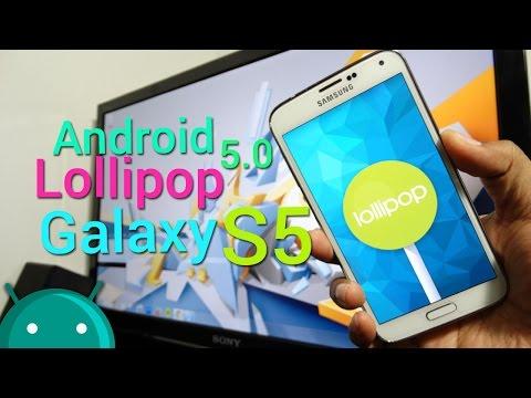 Actualiza tu Galaxy S5 a Android Lollipop 5.0 OFICIAL